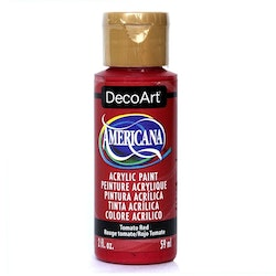 DecoArt Americana Tomato Red