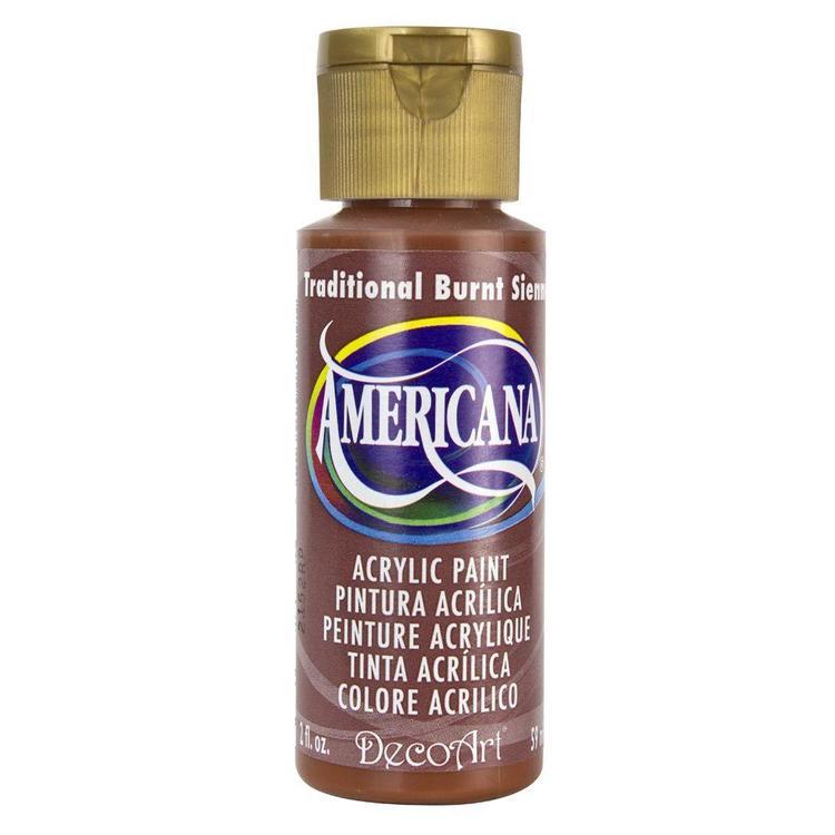 DecoArt Americana  Traditional Burnt Sienna