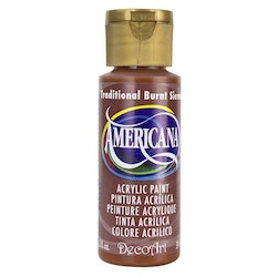 DecoArt Americana  Traditional Burnt Sienna