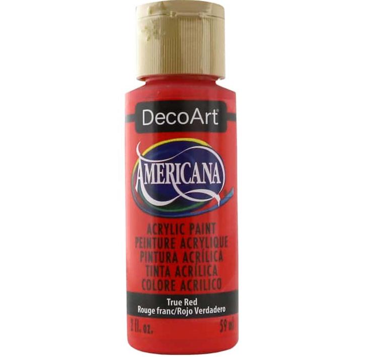 DecoArt Americana True Red