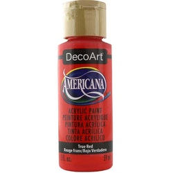 DecoArt Americana True Red
