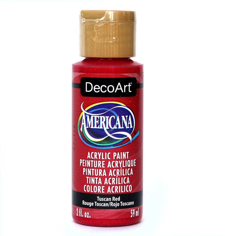 DecoArt Americana Tuscan Red