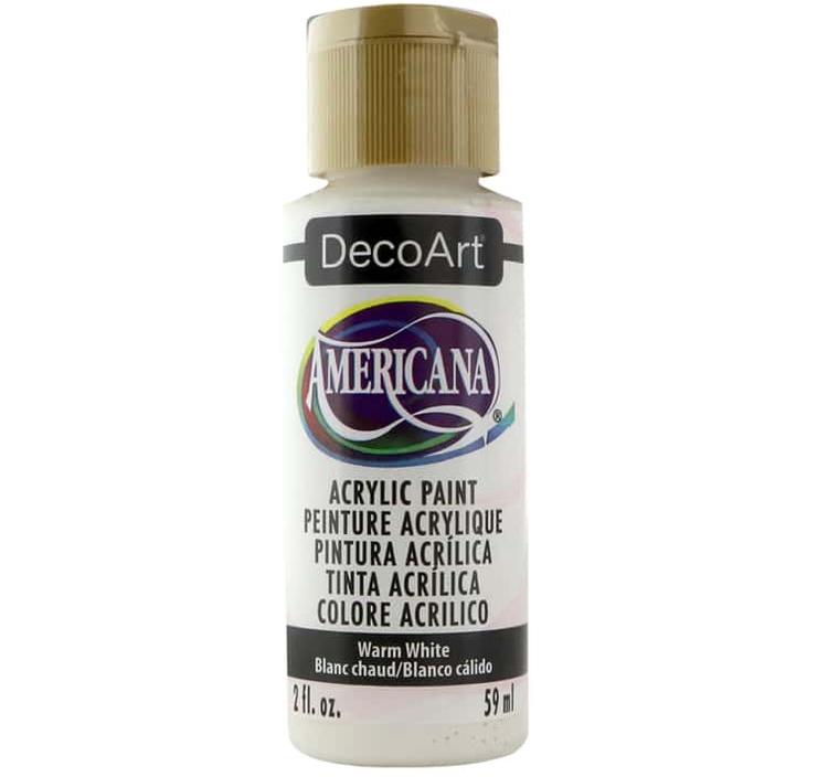 DecoArt Americana Warm White