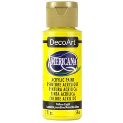 DecoArt Americana Yellow Light