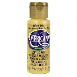 DecoArt Americana Yellow Ochre