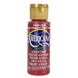 Decoart Americana Country Red