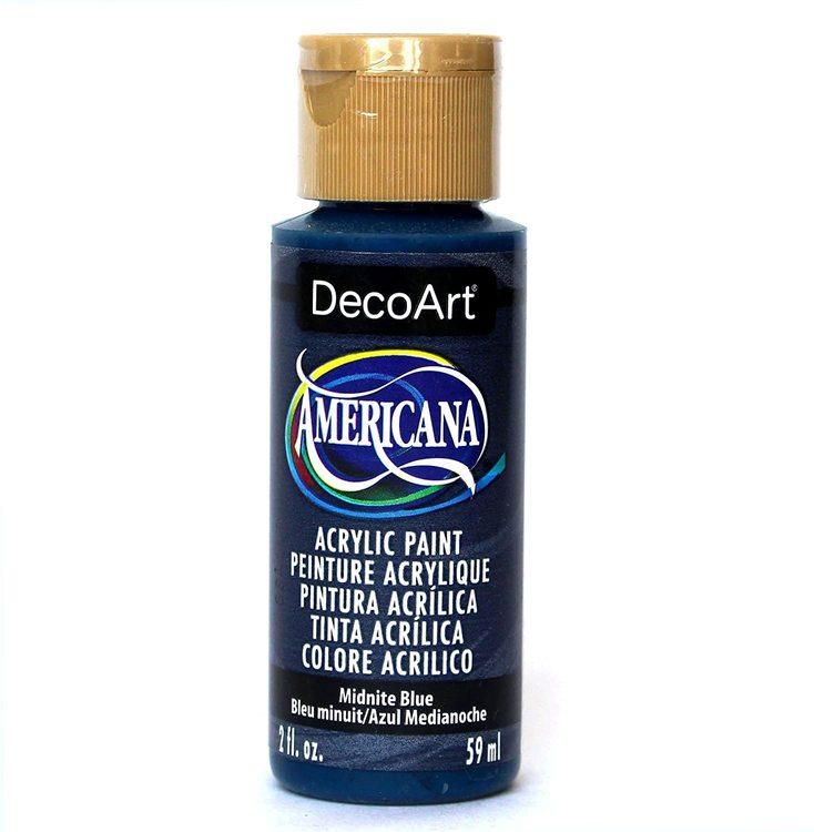 DecoArt Americana Midnite Blue