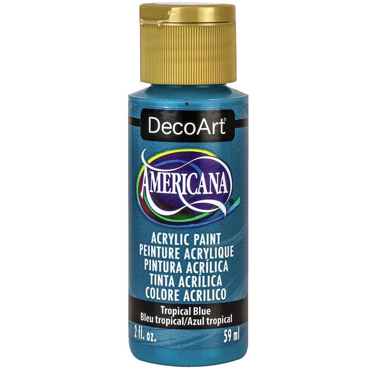 DecoArt Americana Tropical Blue