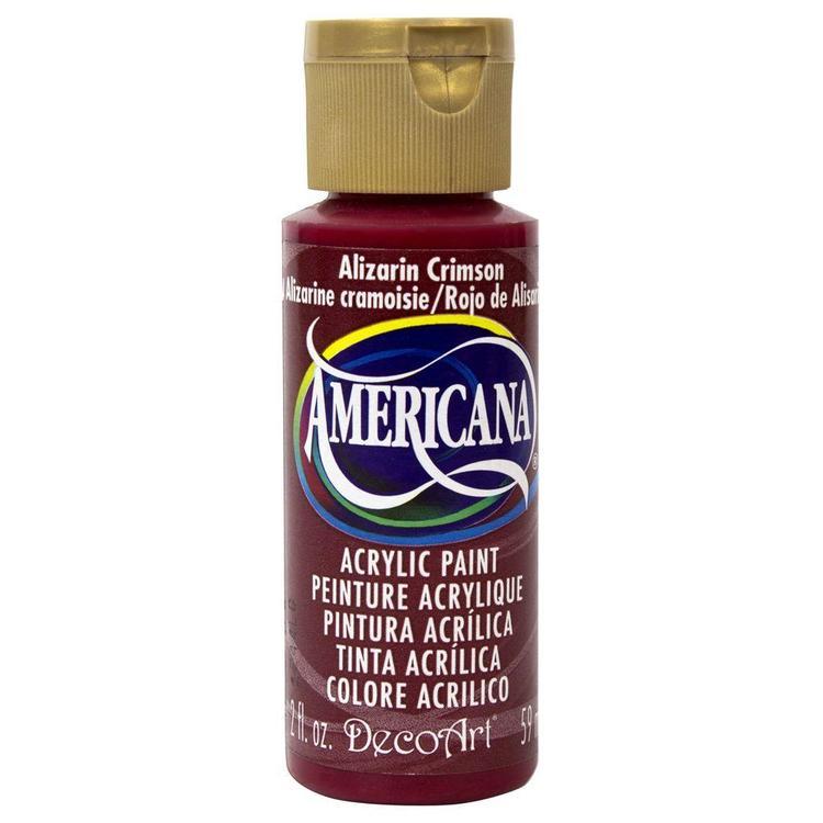 DecoArt Americana Alizarin Crimson