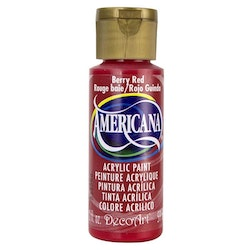 DecoArt Americana Berry Red