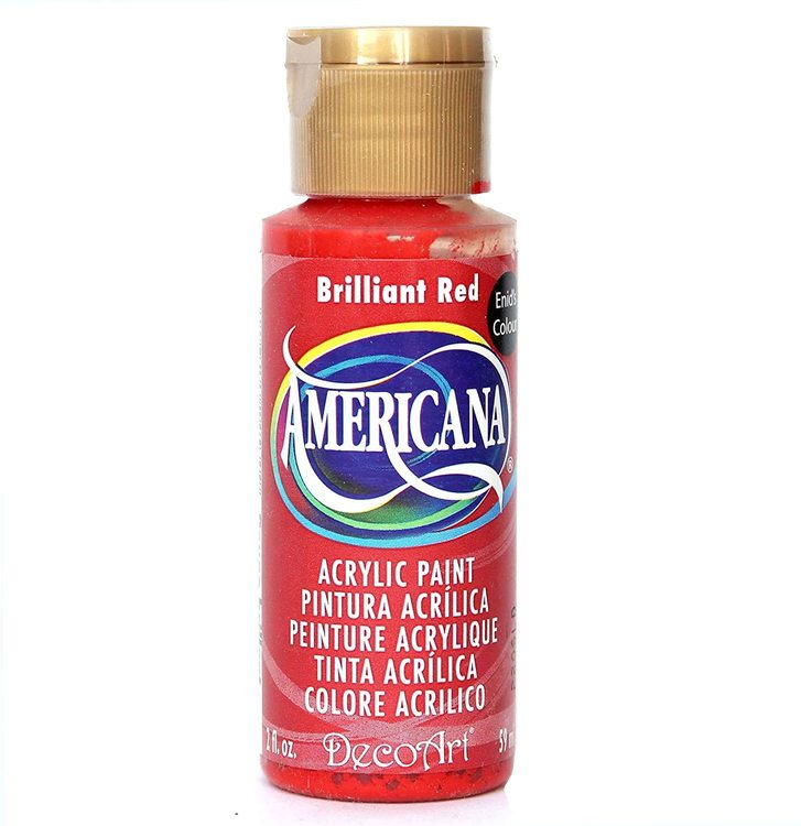 DecoArt Americana Brilliant Red
