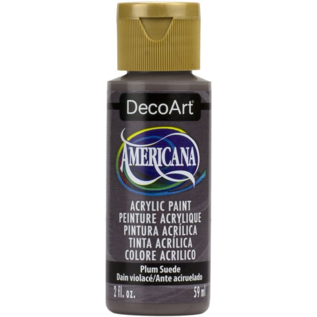 DecoArt Americana Plum Suede