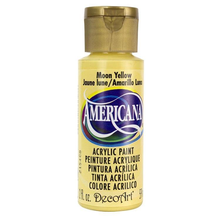 DecoArt Americana Moon Yellow