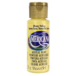 DecoArt Americana Moon Yellow