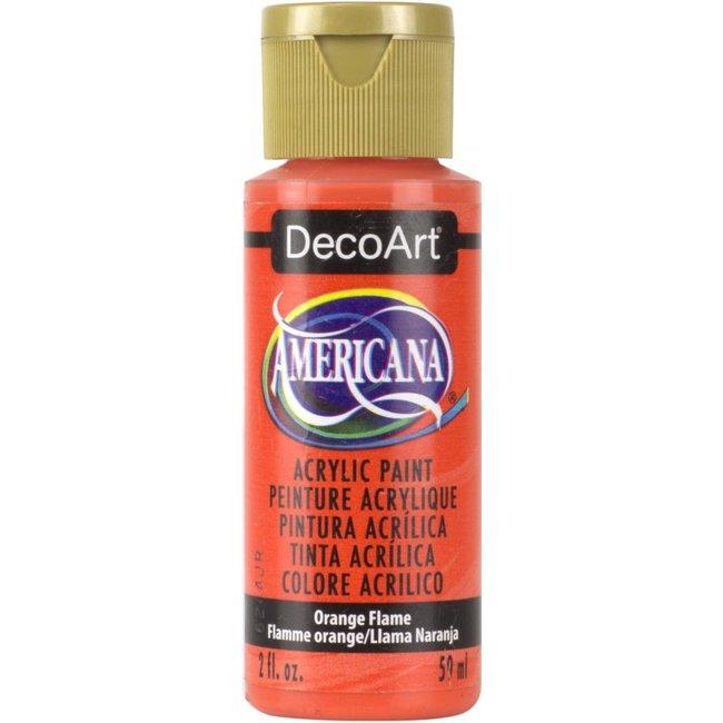 DecoArt Americana Orange Flame