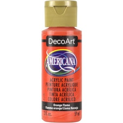 DecoArt Americana Orange Flame