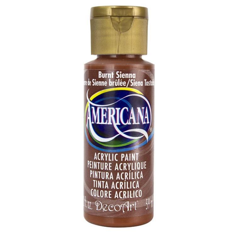 DecoArt Americana Burnt Sienna