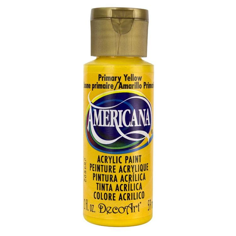 DecoArt Americana Primary Yellow