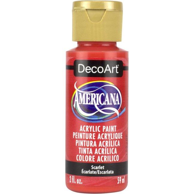 DecoArt Americana Scarlet
