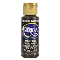 DecoArt Americana Traditional Burnt Umber