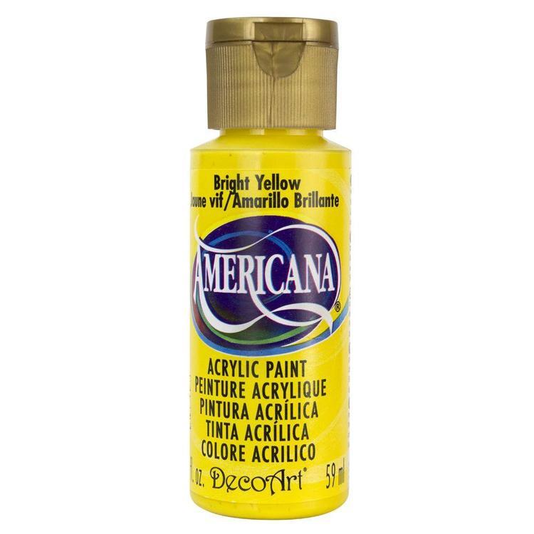 DecoArt Americana Bright Yellow