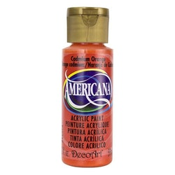 DecoArt Americana Cadmium Orange
