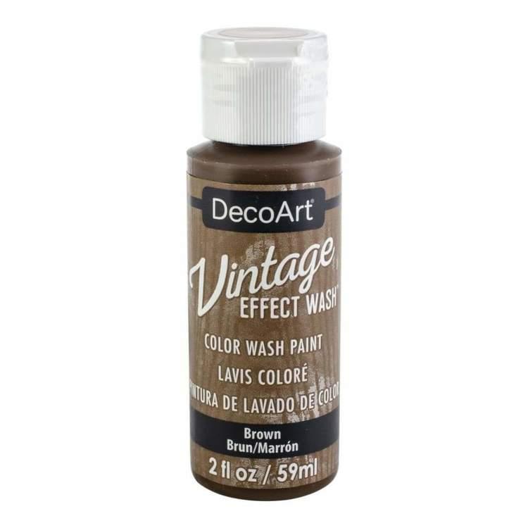 DecoArt Vintage Effect Wash Brown