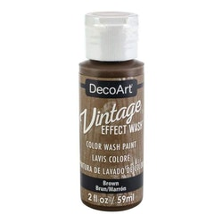 DecoArt Vintage Effect Wash Brown