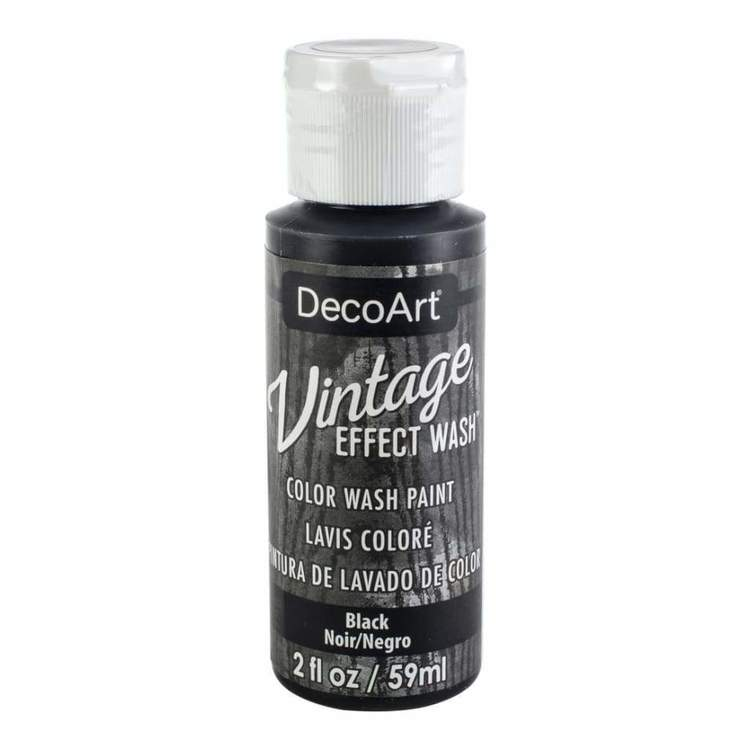 DecoArt Vintage Effect Wash Black