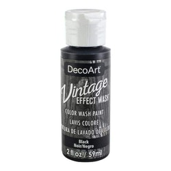 DecoArt Vintage Effect Wash Black