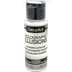 DecoArt Holographic Illusions Crystal Ball