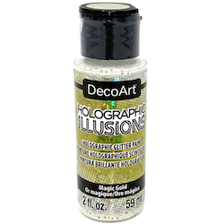DecoArt Holographic Magic Gold