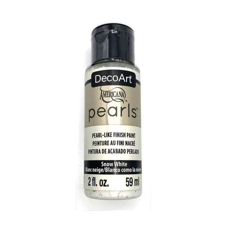 DecoArt Pearls Snow White