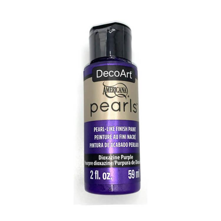 DecoArt Pearls Dioxazine Purple