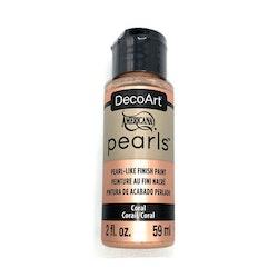 DecoArt Pearls Coral