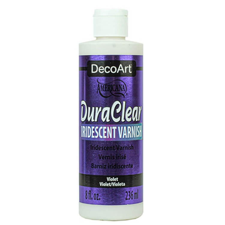 DecoArt Iridescent Varnish Violet 236ml