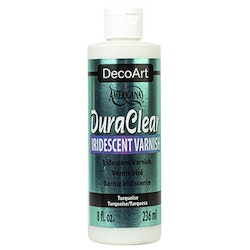 DecoArt Iridescent Varnish Turquoise 236ml