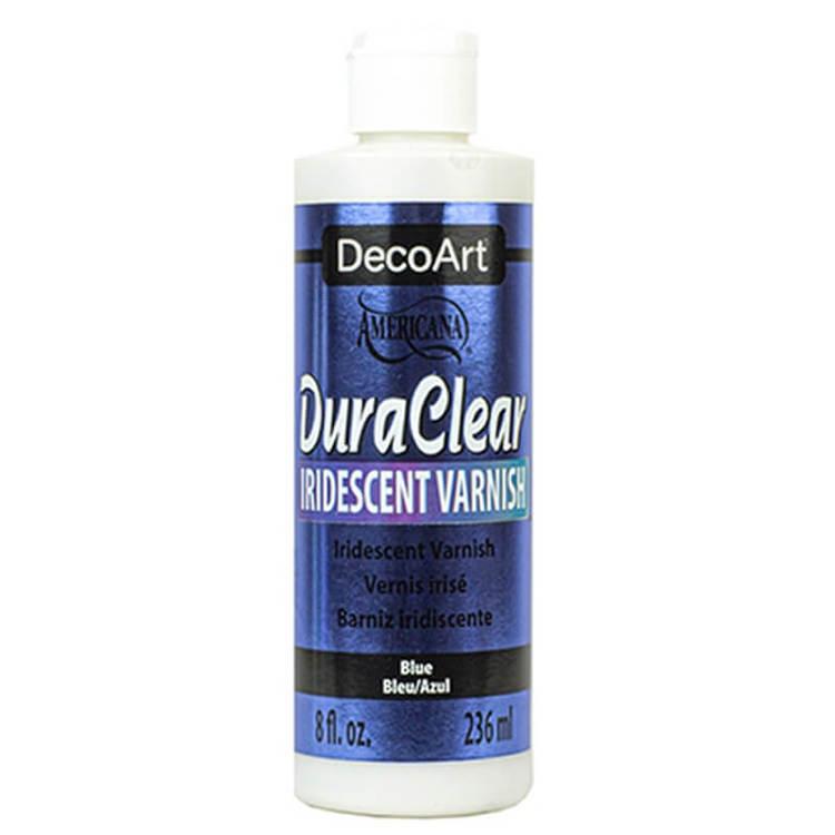 DecoArt Iridescent Varnish Blue 59ml