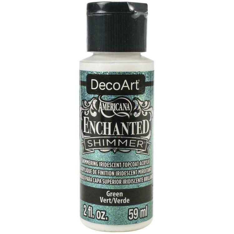 DecoArt Enchanted Shimmer Green