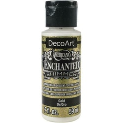DecoArt Enchanted Shimmer Gold