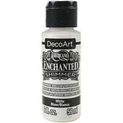 DecoArt Enchanted Shimmer White