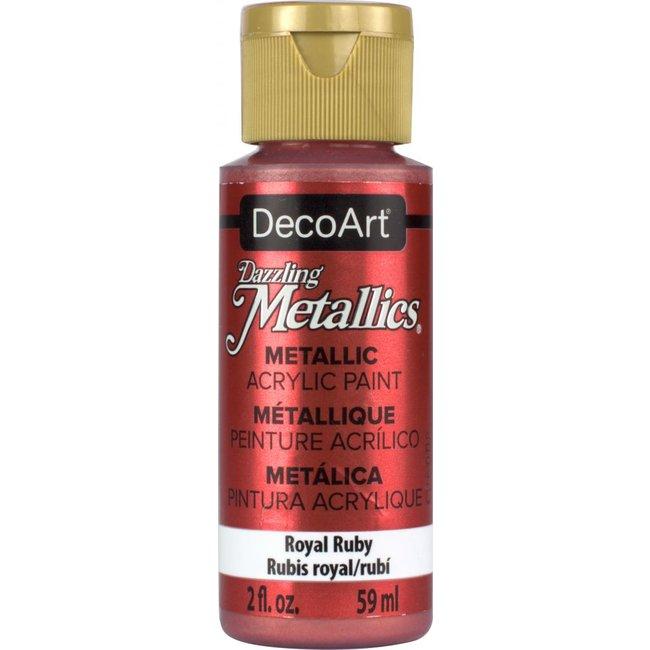 DecoArt Dazzling Metallics Royal Ruby