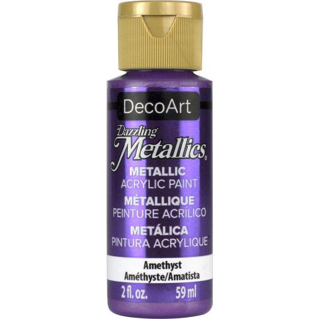DecoArt Dazzling Metallics Amethyst