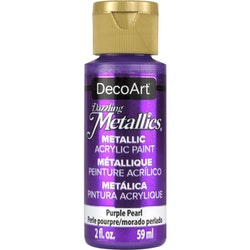 DecoArt Dazzling Metallics Purple Pearl
