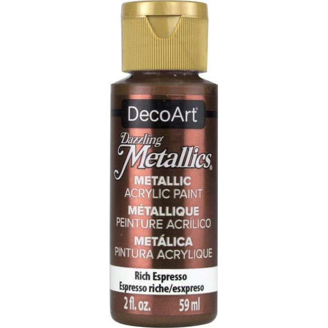 DecoArt Dazzling Metallics Rich Espresso