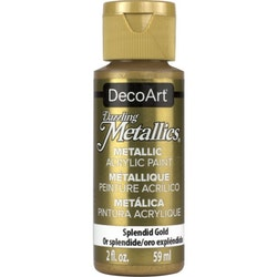 DecoArt Dazzling Metallics Splendid Gold