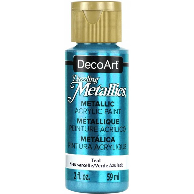 DecoArt Dazzling Metallics Teal
