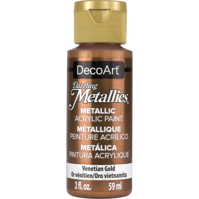 DecoArt Dazzling Metallics Venetian Gold