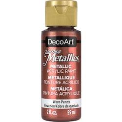 DecoArt Dazzling Metallics Worn Penny
