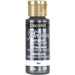 DecoArt Dazzling Metallics Zinc
